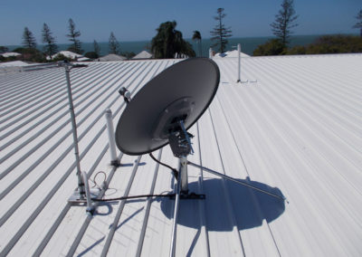 rc foxtel lnb dish installation commercial tv television