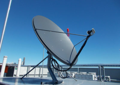 rc gallery dish satellite television tv foxtel digital roof installation commercial