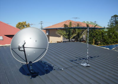 rc gallery roof matv smatv dish satellite antenna residential