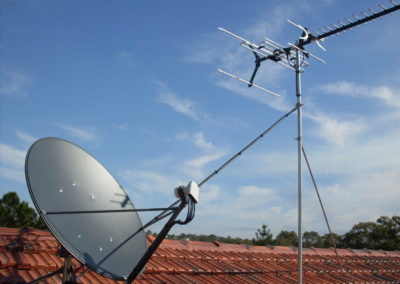 rc gallery smatv matv antenna satellite mast roof residential