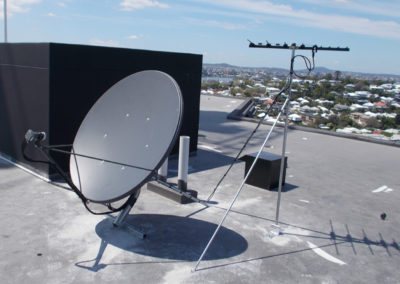 rc roof satellite channel tv television broadcast
